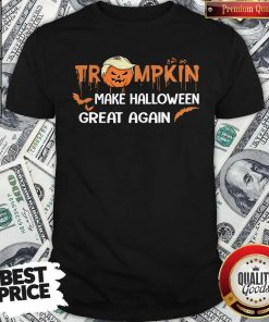 Funny Trumpkin Make Halloween Great Again Shirt