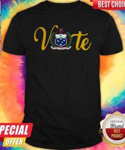 Funny Vote Western Samoa National Pride Emblem Shirt
