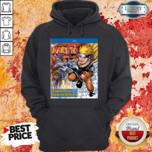 Good Funny Shonen Jump Naruto Triple Feature Collector's Edition Hoodie