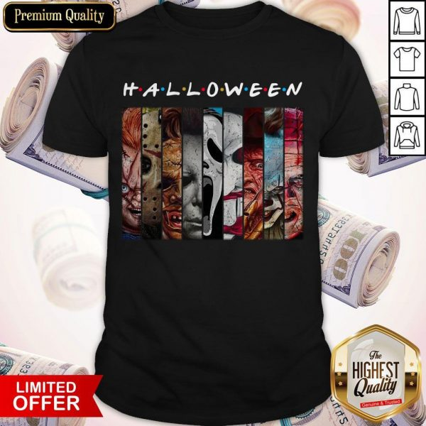 Good Happy Halloween With Scary Stuff Shirt