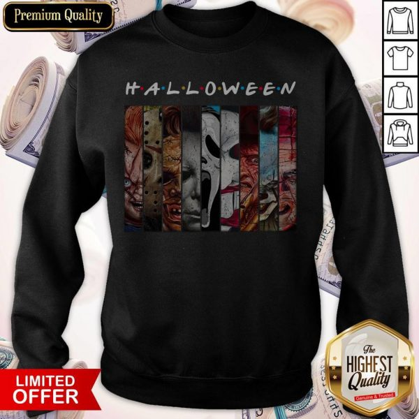 Good Happy Halloween With Scary Stuff Sweatshirt
