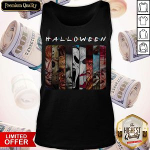 Good Happy Halloween With Scary Stuff Tank Top