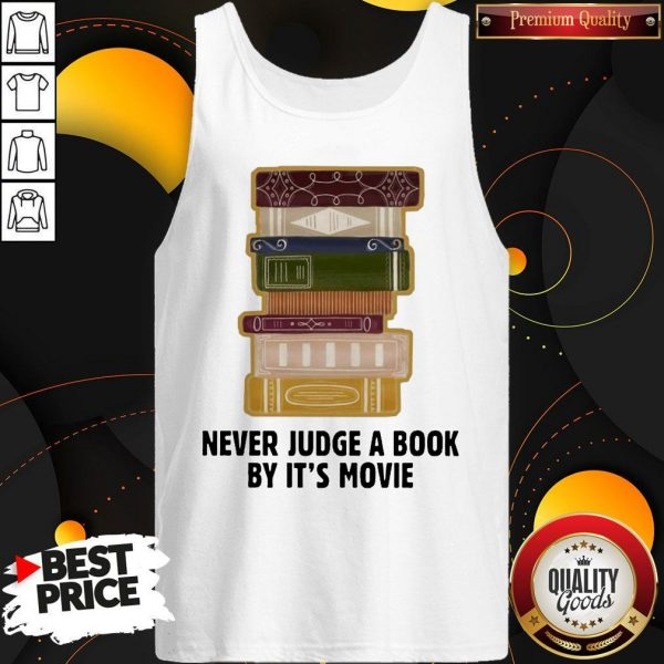 Good Never judge a book by it's Movie Tank Top