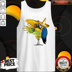 Good Official Parrot Drink Cocktail Tank Top