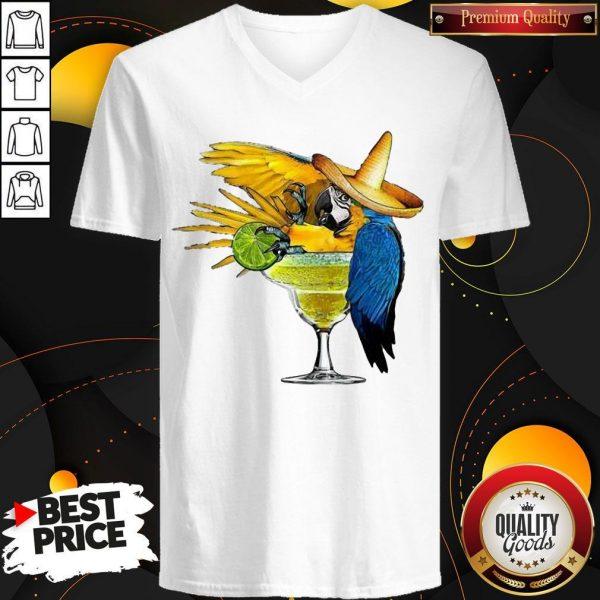 Good Official Parrot Drink Cocktail V-neck
