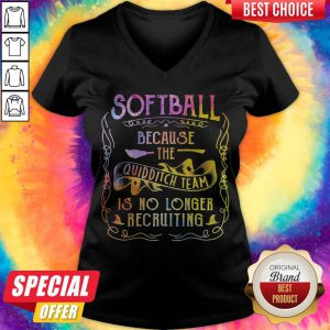 Good Softball Because The Quidditch Team Is No Longer Recruiting V-neck