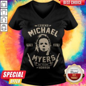 Good The Legend Of Michael 1978 2018 Myers 40 Years Of Horror V-neck