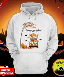 Halloween Corgi It's The Time Most Wonderful Time Of The Year Hoodie
