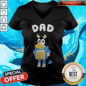 Nice Bluey Dad V-neck