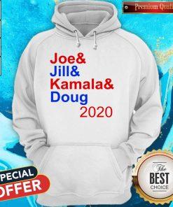Nice Joe & Jill & Kamala & Doug 2020 Hoodie