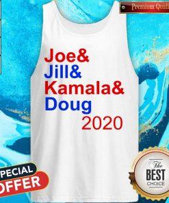 Nice Joe & Jill & Kamala & Doug 2020 Tank Top