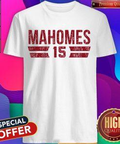 Nice Patrick Mahomes Font 2020 T-Shirt