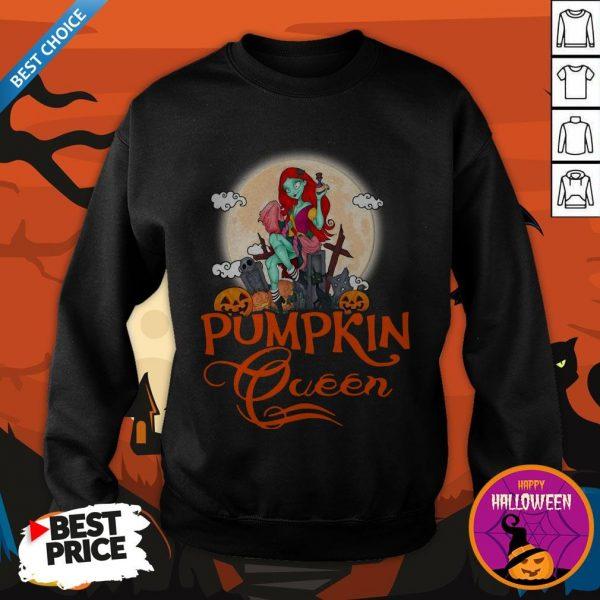 Nice Pumpkin Queen Halloween Sweatshirt