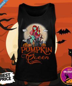 Nice Pumpkin Queen Halloween Tank Top