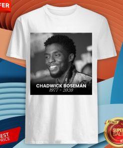 Nice Rip Chadwick Boseman Shirt