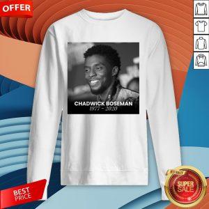 Nice Rip Chadwick Boseman Sweatshirt