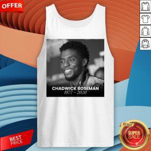 Nice Rip Chadwick Boseman Tank Top