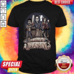 Official Ashy Slashy Halloween Shirt
