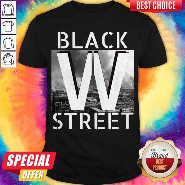 Official Black Wall Street Shirt