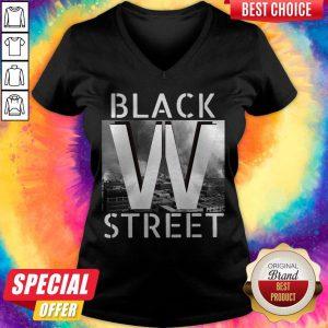 Official Black Wall Street V-neck