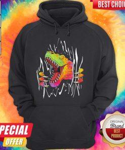 Official Blood Inside Me Dinosaur Hoodie