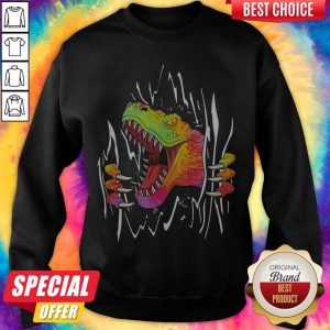 Official Blood Inside Me Dinosaur Sweatshirt