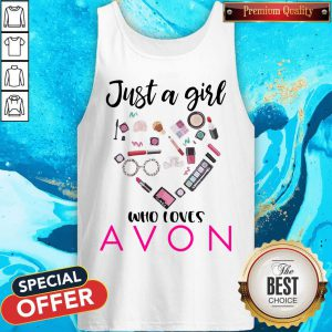 Official Just A Girl Who Loves Avon Tank Top