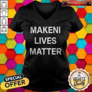 Official Makeni Lives Matter V-neck