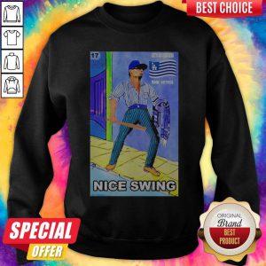 Official Ready Fight Joe Kelly Les's Go Dodgers Fuck Astros Nice Swing Sweatshirt