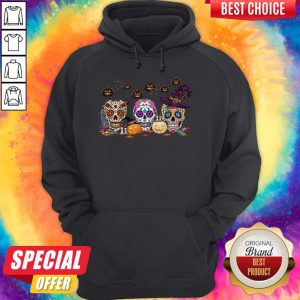 Official Skull Witch Pumpkin Halloween Hoodie