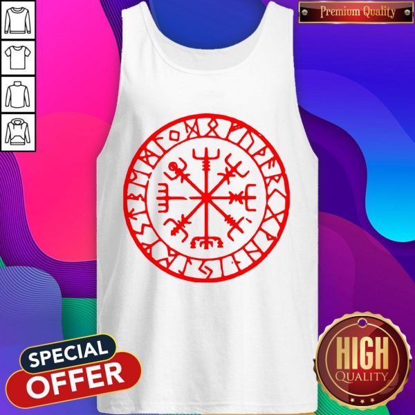 Official Vikings Rune Compass Tank Top