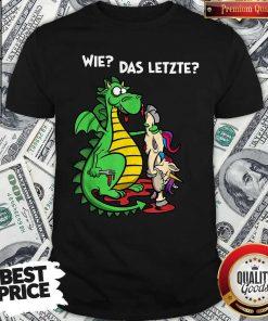 Official We Das Letzte Shirt