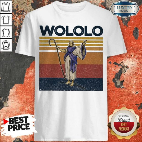 Official Wololo Age Of Empires II Vintage Shirt