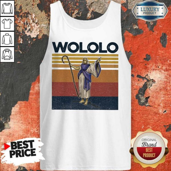Official Wololo Age Of Empires II Vintage Tank Top