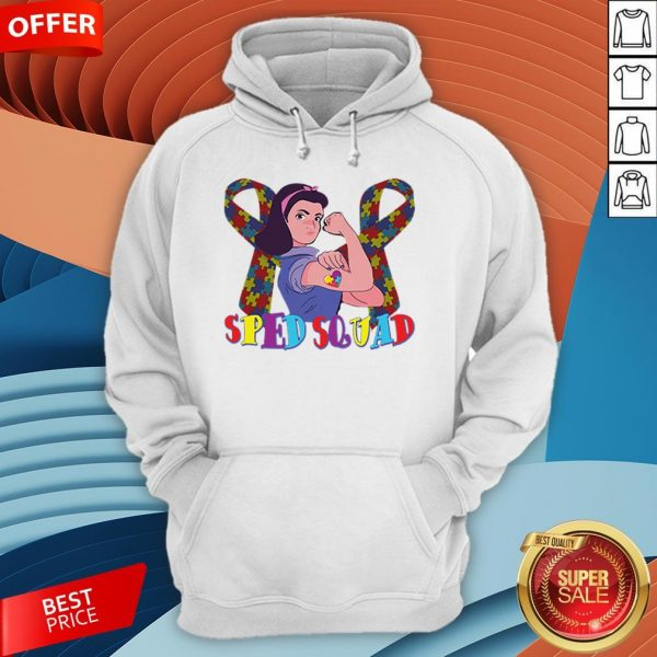 Sped Squad Autism Special Education Teacher T-Hoodie