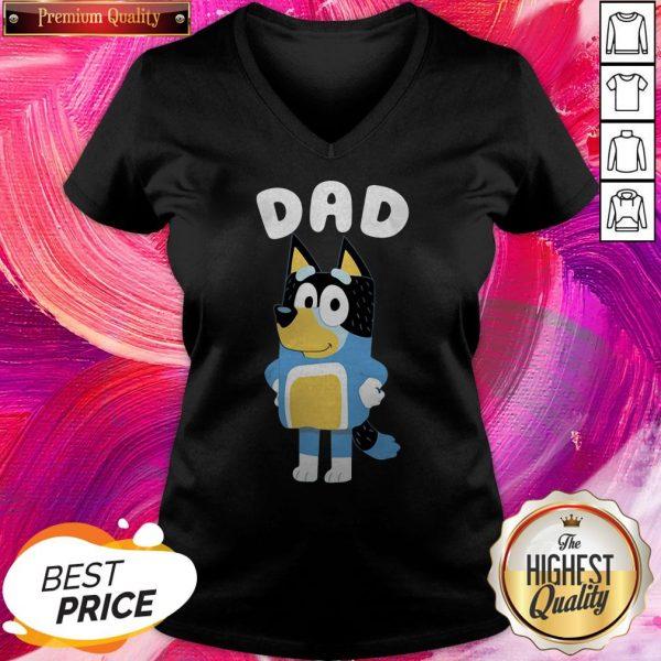 Super Bluey Dad V-neck