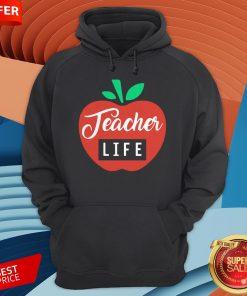 Teacher Pencil Shirt Teacher Life Apple Hoodie