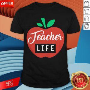 Teacher Pencil Shirt Teacher Life Apple ShirtTeacher Pencil Shirt Teacher Life Apple Shirt