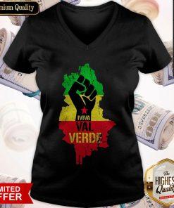 Top Black Lives Matter Iviva Val Verde V-neck