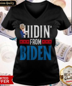 Top Hidin' From Biden 2020 Election Donald Trump Republican Official T-V-neck