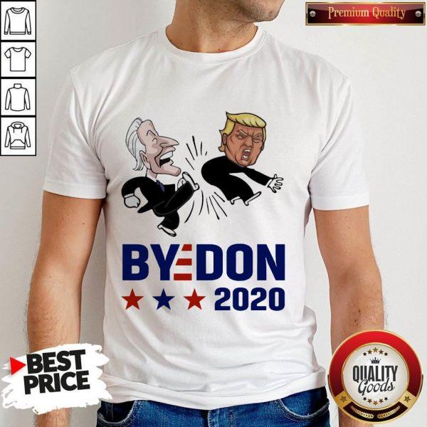 Top Joe Biden Kicks Trump ByeDon 2020 Shirt