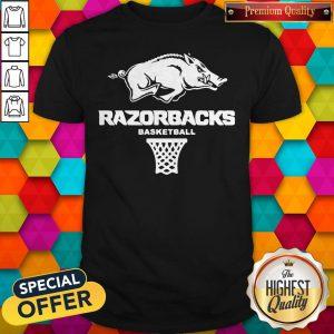 Top Official Razorbacks Basketball Shirt