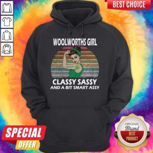 Top Strong Girl Tattoo Woolworths Girl Classy Sassy And A Bit Smart Assy Vintage Hoodie