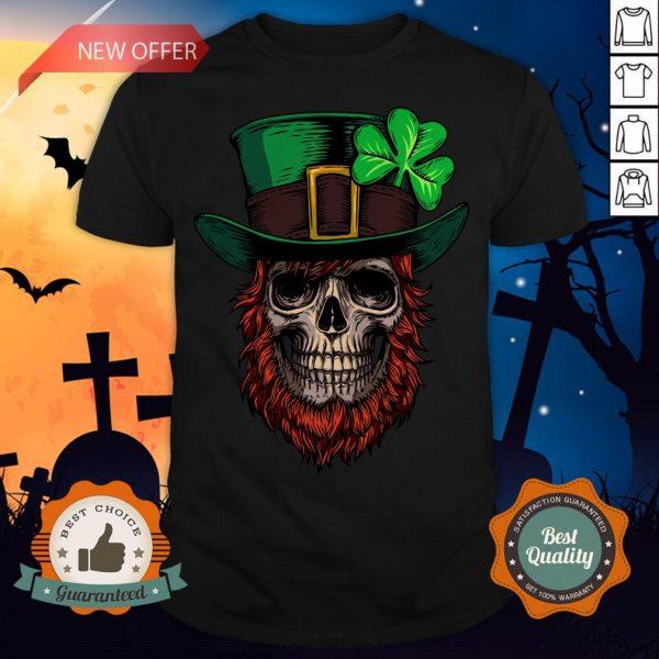 Saint Patrick's Skull Man Day Of Dead Muertos Shirt