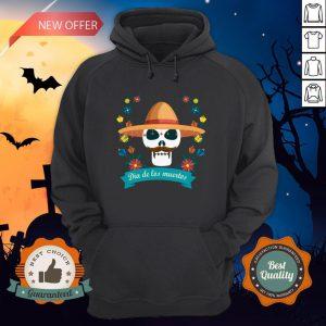 Sugar Skull Man Day Of Dead Dia De Muertos Hoodie