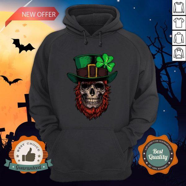 Saint Patrick's Skull Man Day Of Dead Muertos Hoodie