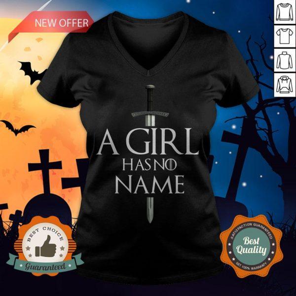 A Girl Has No Name Halloween V-neck