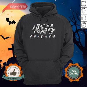 All Halloween Characters Friends Hoodie