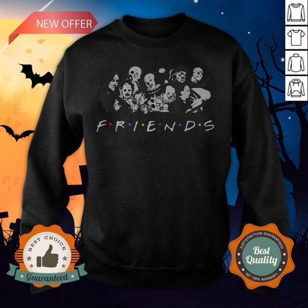 All Halloween Characters Friends Sweatshirt
