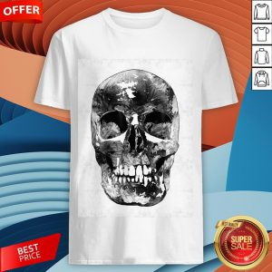 Black And White Skull Day Of Dead Dia De Los Muertos Shirt
